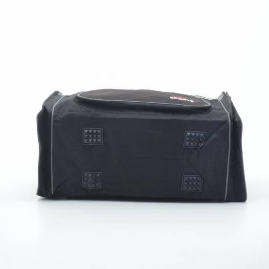 Дорожная сумка черно-серая