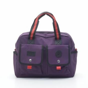 Дорожная сумка фиолетовая
