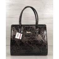Женская каркасная сумка мраморного цвета