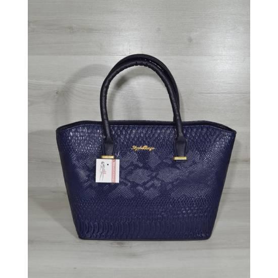 Модная женская сумка фиолетового цвета