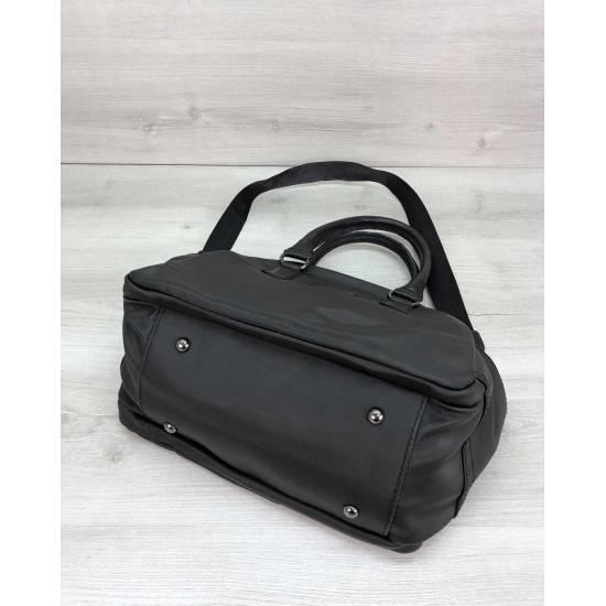 Тканевая сумка черного цвета