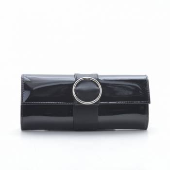 Вечерний клатч 7793 черного цвета