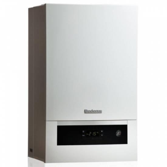 Котел газовый Buderus Logamax plus GB172-24T50 со встроенным баком ГВП 48 л (7716701522)