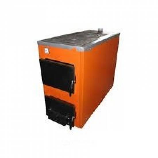Котёл твёрдотопливный ТермоБар АКТВ-20 с плитой (2 комф.)