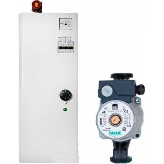 Котел электрический ТермоБар Ж-7 КЕП-12-1 (с насосом)