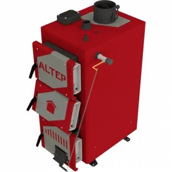 Котел твердотопливный Altep Classic Plus 16 кВт (механика)