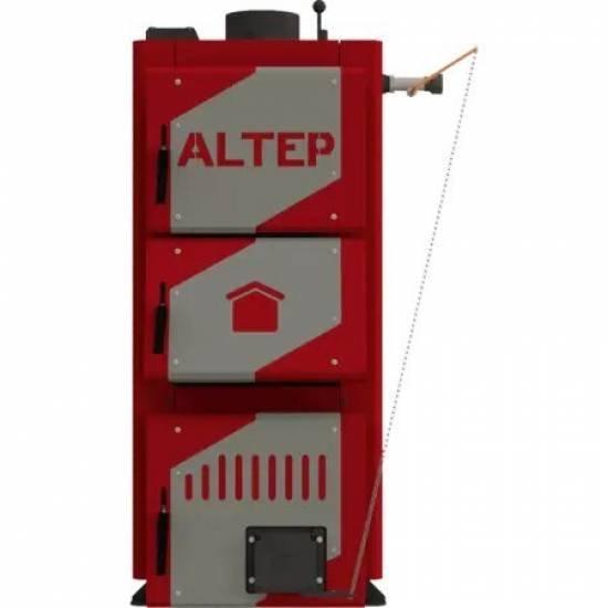Котел твердотопливный Altep Classic Plus 12 кВт (механика)