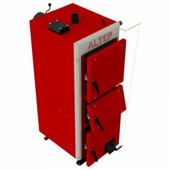 Котел твердотопливный Altep Duo Uni Plus 27 кВт (комплект ручная)