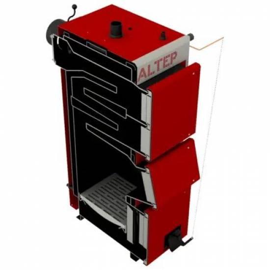Котел твердотопливный Altep Duo Uni Plus 15 кВт (комплект ручная)