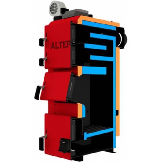 Котел твердотопливный Altep Duo Plus 25 кВт (автоматика)