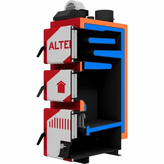 Котел твердотопливный Altep Classic Plus 24 кВт (автоматика)