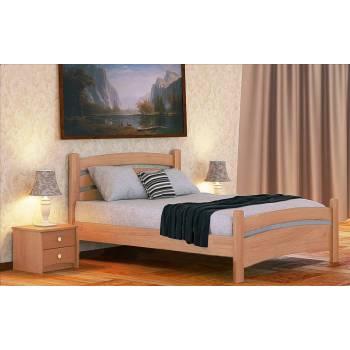 """Двуспальная деревянная кровать """"Белла Люкс"""""""