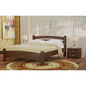 """Двуспальная деревянная кровать """"Белла Плюс"""""""