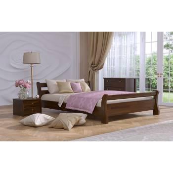 """Двуспальная деревянная кровать """"ЛЕЯ"""""""