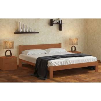 """Двуспальная деревянная кровать """"Неолла"""""""