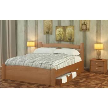 """Двуспальная деревянная кровать """"Номи Плюс"""""""