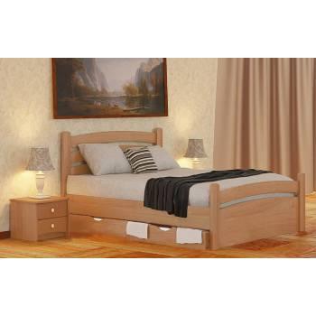 """Двуспальная деревянная кровать""""Номи Люкс"""""""