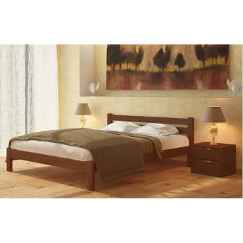 """Двуспальная деревянная кровать """"Селена"""""""