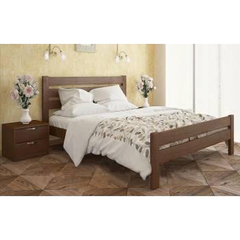 """Двуспальная деревянная кровать """"Селена Люкс"""""""