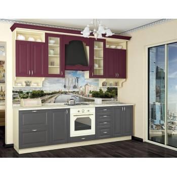 Кухня с фасадом Дениз