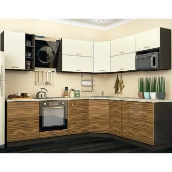 Кухня с фасадом Тренто (260х210 см)