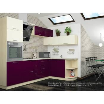 Кухня с фасадом Тренто (260х160 см)