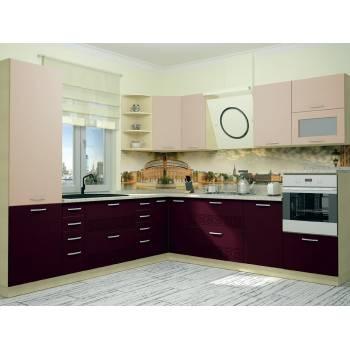 Кухня с фасадом Тренто (290х270 см)