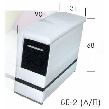 Диван Флоренция боковина 8Б-2 (Л/П)