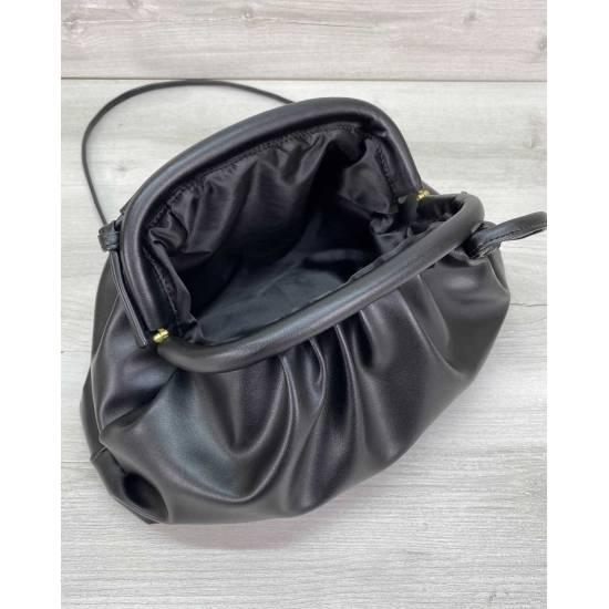 Модная женская сумка черного цвета