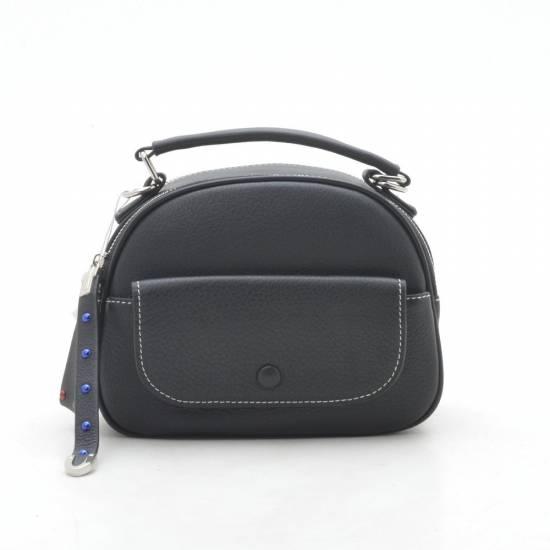 Женский клатч 2061 leather черного цвета