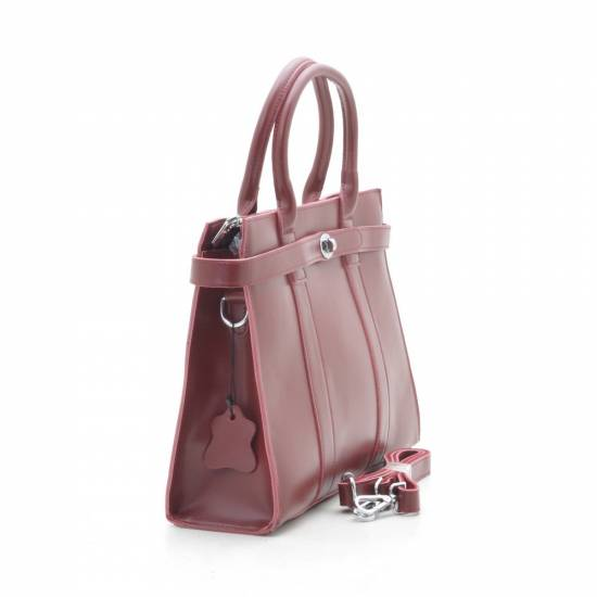Женская сумка 9067 red wine