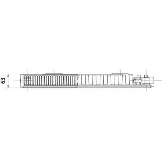 Радиатор стальной Korado 11VK 500X1200 (11-050120-60-10)