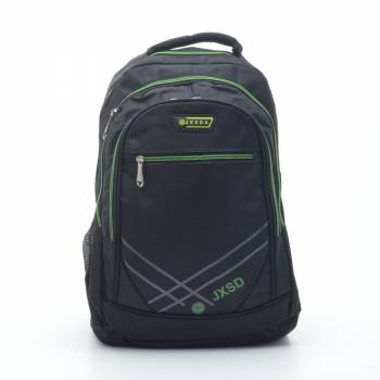 Черно-зеленый рюкзак
