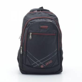 Рюкзак черный с красным
