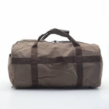 Дорожная сумка-рюкзак коричневая