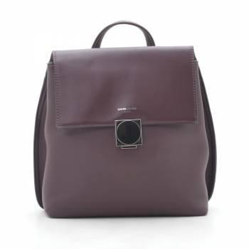 Фиолетовый рюкзак с внешним карманом