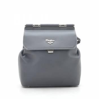 Стильный серый рюкзак