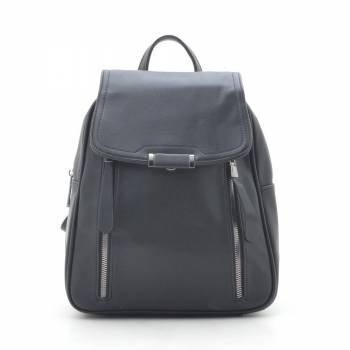 Черный рюкзак-трансформер с внешними карманами