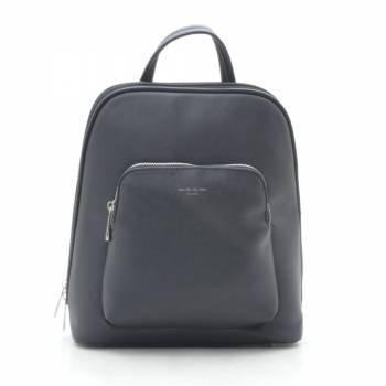Стильный черный рюкзак с одним отделением