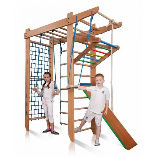 Детский спортивный уголок с рукоходом «Гимнаст 5-240»