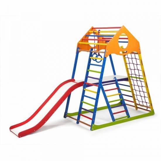 Детский спортивный комплекс KindWood Color Plus 2