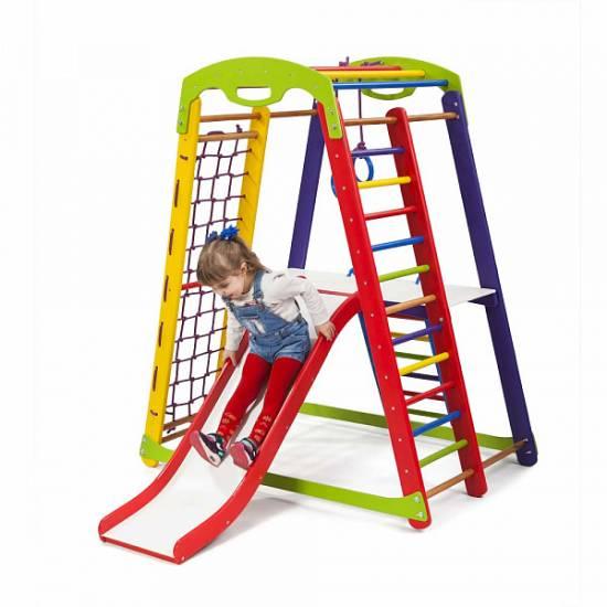 Детский спортивный уголок- «Кроха - 1 Plus 2»