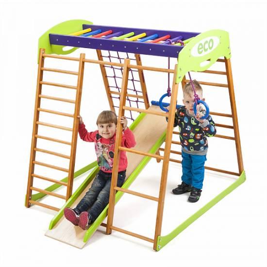 Детский спортивный комплекс для квартиры «Карамелька мини»
