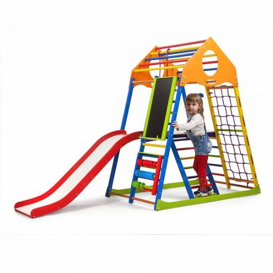 Детский спортивный комплекс KindWood Color Plus 3