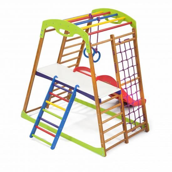 Детский спортивный комплекс для дома BabyWood Plus 2