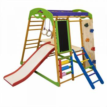 Детский спортивный комплекс для квартиры SportBaby Карамелька Plus 5