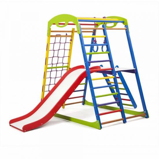 Детский спортивный комплекс для дома SportWood Plus 2