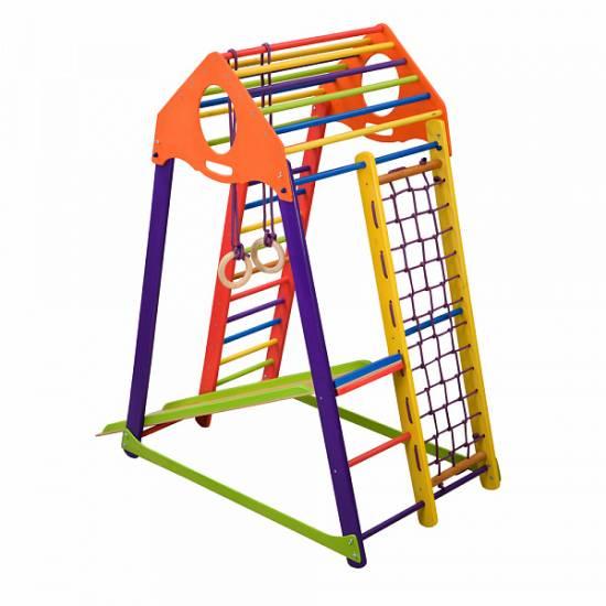 Детский спортивный комплекс BambinoWood Color