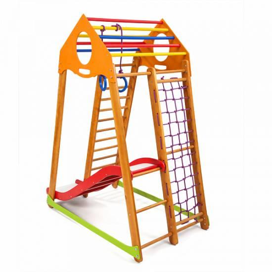 Детский спортивный комплекс BambinoWood Plus 1