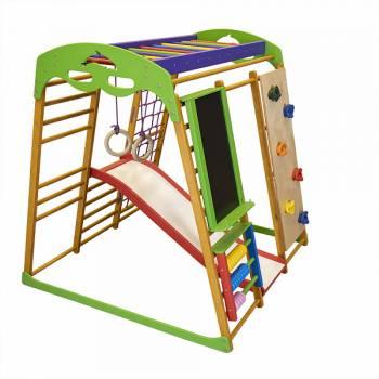 Детский спортивный комплекс для квартиры SportBaby Карамелька Plus 4